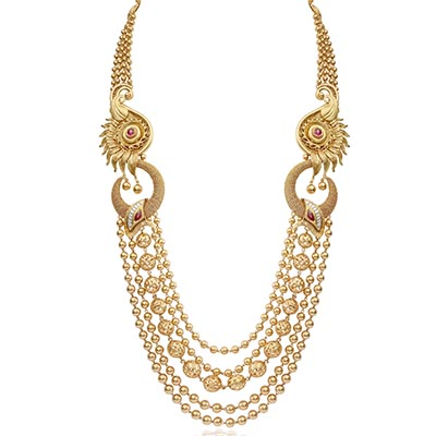OM Jewellers necklace in gold