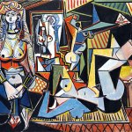 Pablo Picasso, Les Femmes d'Alger or The Women of Algiers