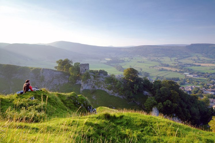 Valleys, gorges and moorland dominate the Peak District's landscape