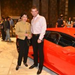 Sabira Merchant and Alexey Strukov at the Roche Bobois event