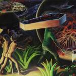 RATHEESH T, 0, oil on canvas, 198.1 x 305 cm - 78 x 120 in