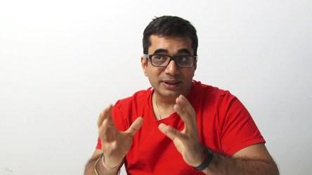 Vishal Gondal, founder of GOQii