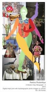 Rekha Rodwittiya for Sakshi Gallery
