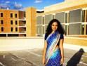 tanya rawal, california, saree not sorry, sari revival, politics