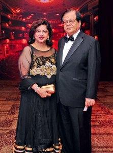 Shobha and Mohan Bhojwani