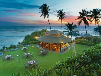 A meal with a view at the Shack, the Vivanta by Taj - Bentota