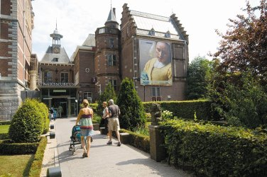 Entrance of Rijksmuseum