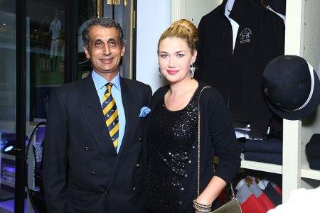 Uday and Sandra Kalaan
