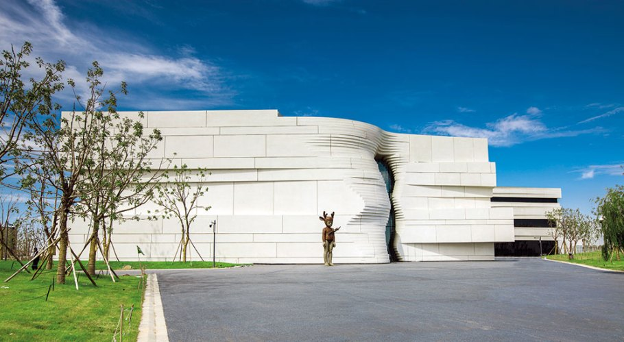 Yinchuan Museum of Contemporary Art, China