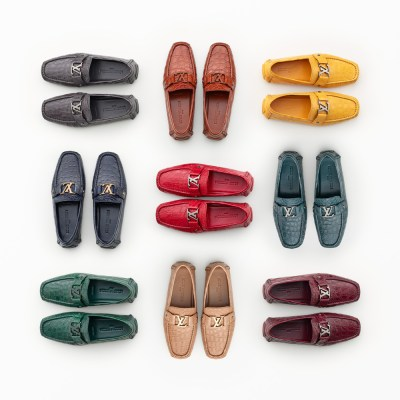 Personalised made-to-order Monte Carlo shoe from Louis Vuitton