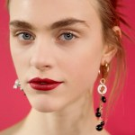 dior spring summer, how to red lips, beauty, haute couture 2016
