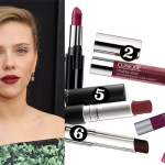 oxblood lips get the look party season hollywood celebrity