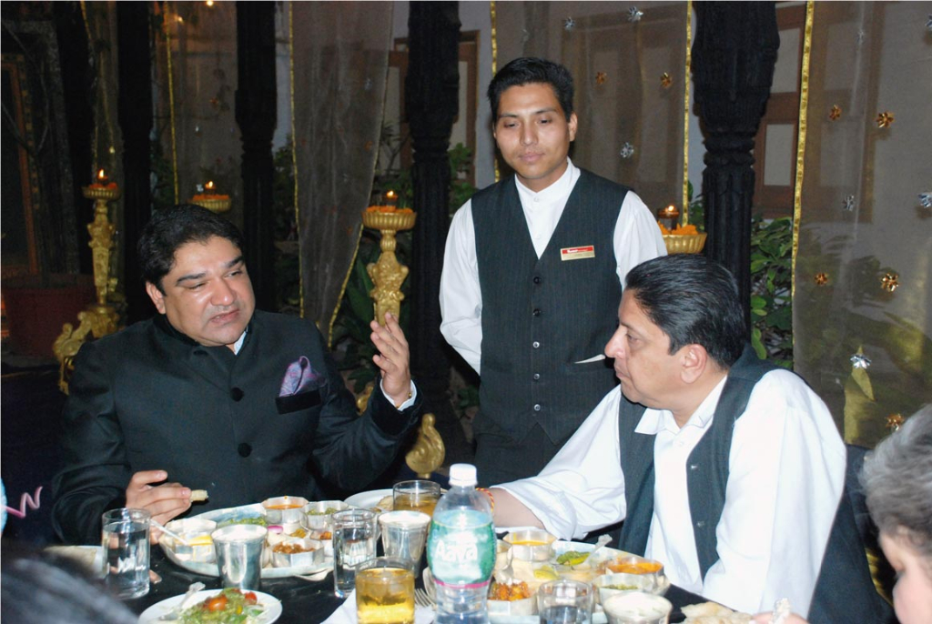 Umang Hutheesing and King Gyanendra of Nepal