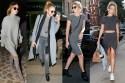 Gigi Hadid, Grey, Fashion trend