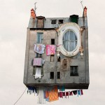 Laurent Chehere, French Photographer, photo series, Flying Houses