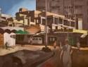 Artwork by Sudhir Patwardhan at Akara Art, Mumbai