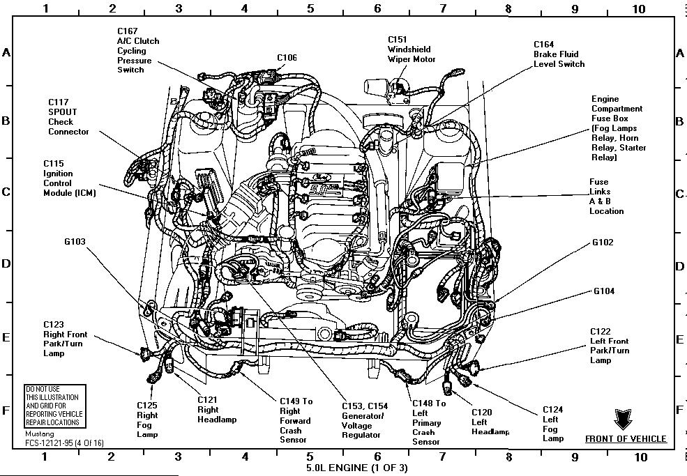Air Bag Sensor Location Wiring Schematic Diagram