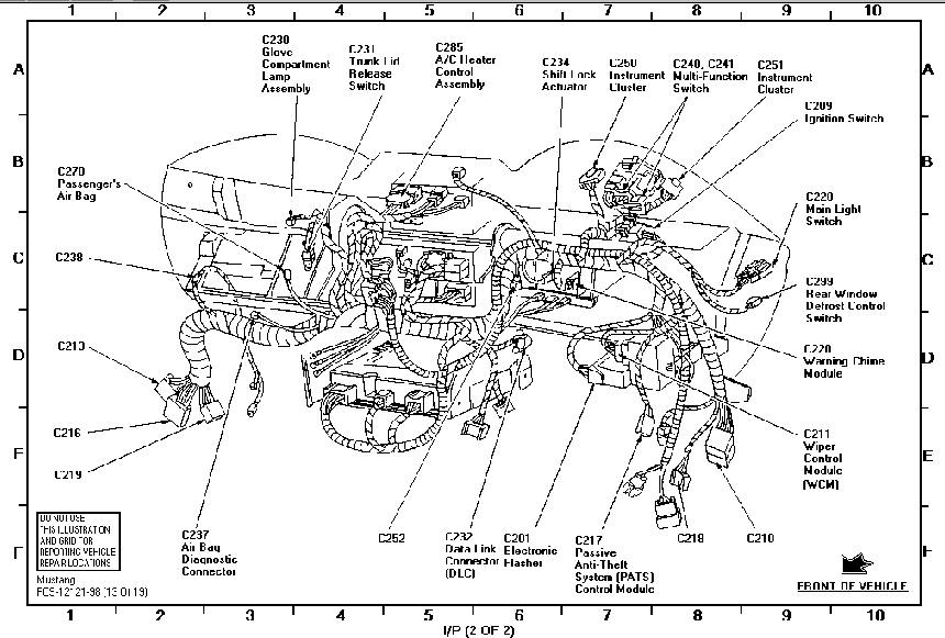 ford abs brake module wiring diagram