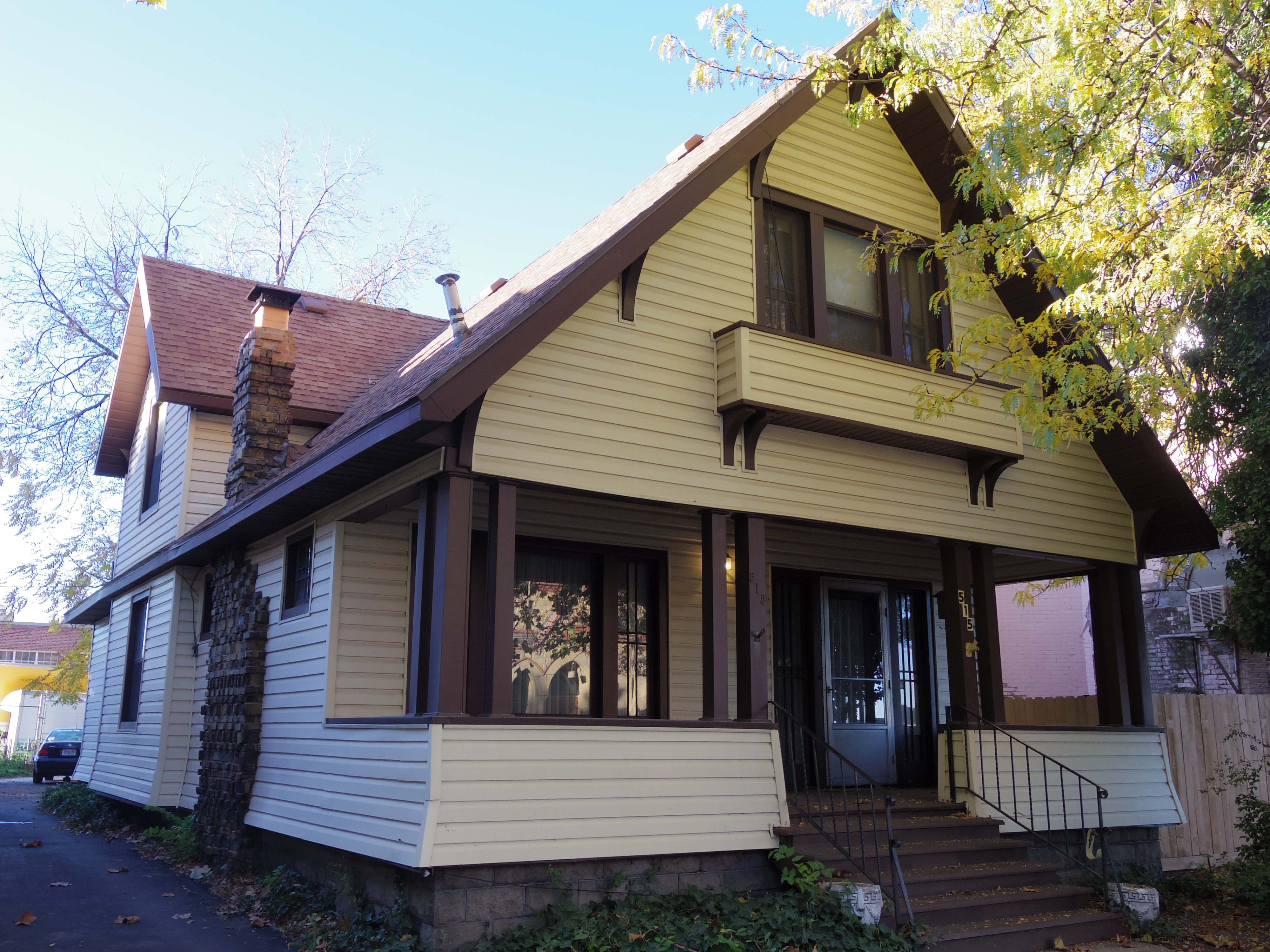 FOR SALE:  Historic Two-Story Craftsman Home