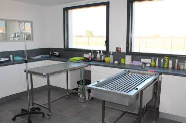 salle de soins et de préparation des chirurgies