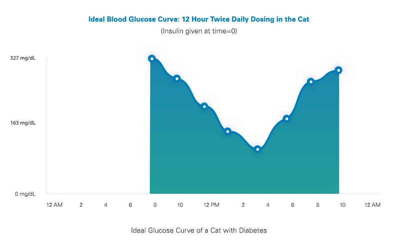Glucose Curves for Cats Vetsulin