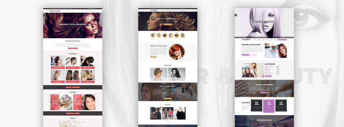 Review Hair  Beauty Salon Websites VEVS Blog