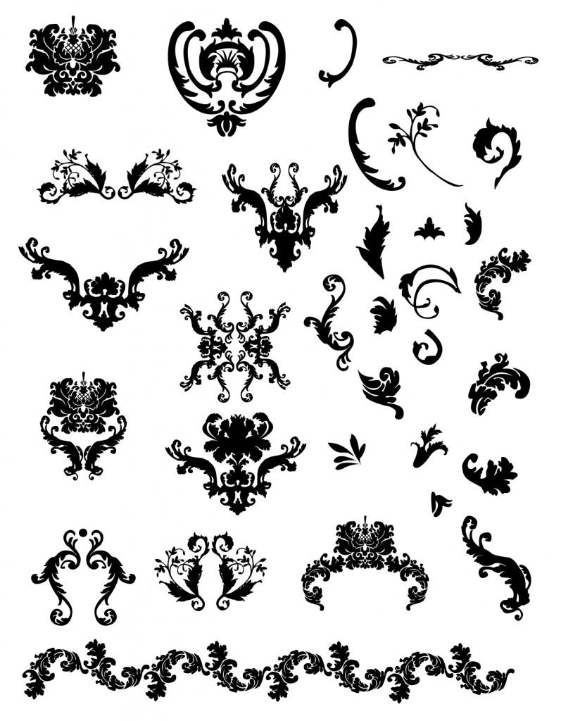 Free calligraphic vectors design inspiration vexels blog