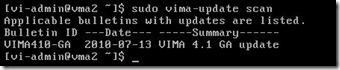 vima-update scan