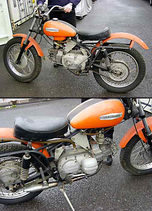 1966 Harley Sprint Parts hobbiesxstyle