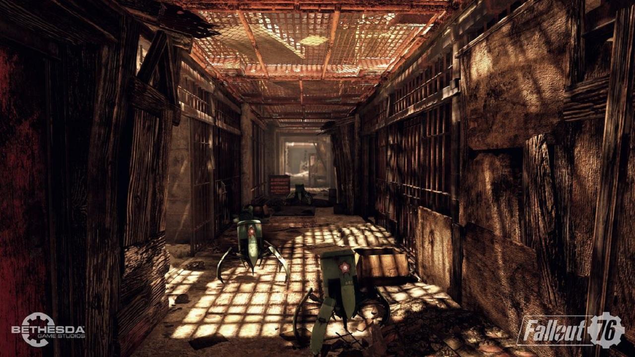 Fall Wallpaper 4k New Liberator Enemies Tease Communist Tech In Fallout 76