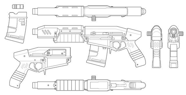 Militech Crusher, Cyberpunk 2077 Weapons Pinterest Cyberpunk - profile sheet template