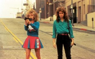 NIGHT OF THE COMET, Kelli Maroney, Catherine Mary Stewart, 1984