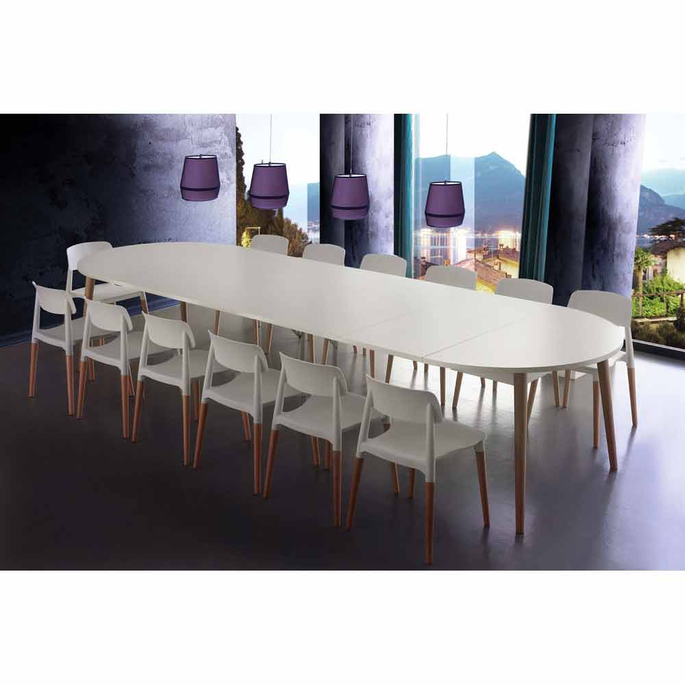 Round Extending Dining Table Dallas Modern Design