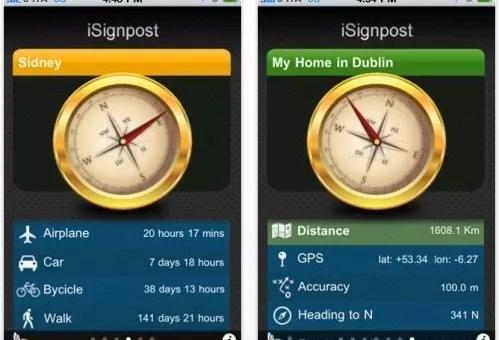 Un'app per i viaggiatori nostalgici