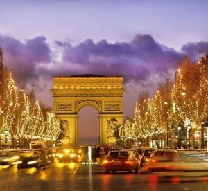 Europa Europe Frankreich France Paris Champs Elysees Elysees Arc de Triomphe