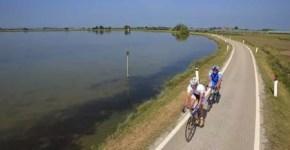 In bicicletta lungo il fiume Sile