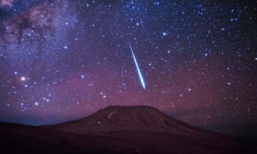 starred night on kilimanjaro