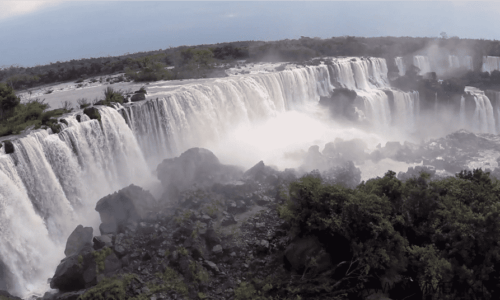 Iguazu Falls   filmed by a drone on Vimeo
