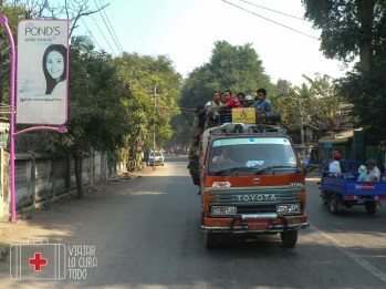 Transporte en furgoneta