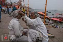 Barbería en Varanasi