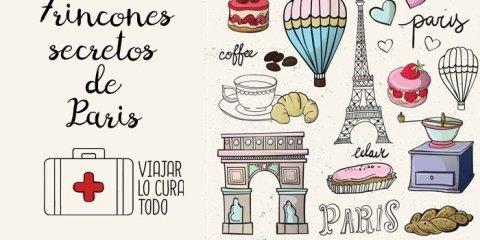 rincones secretos Paris