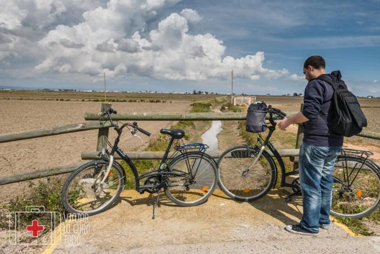 bicicletas paseo delta del ebre