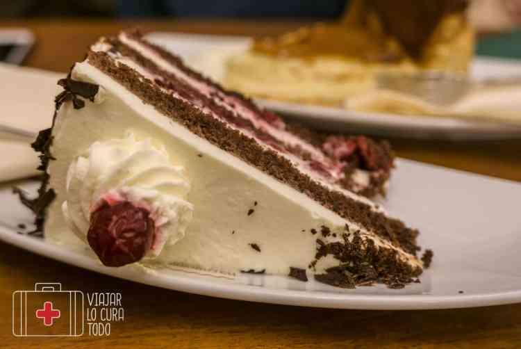 La tarta típica de la Selva Negra
