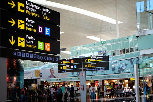 El Prat, único entre los europeos de mayor crecimiento