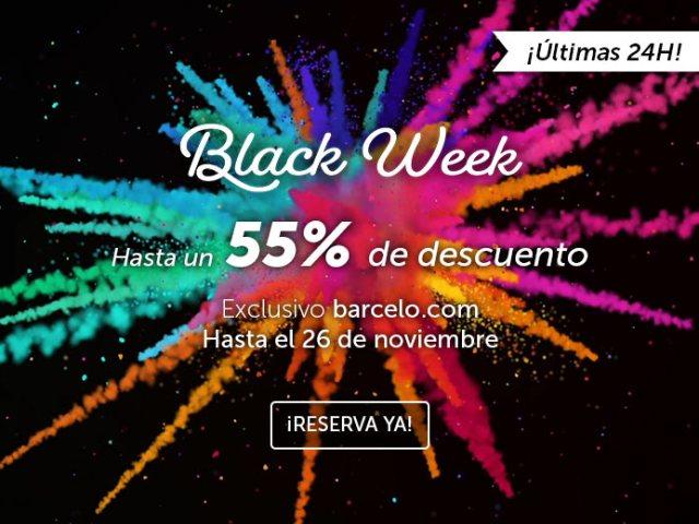 Hasta un 55% de descuento en tu hotel Barceló