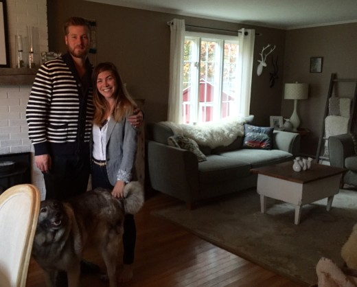 Gorgeous couple Billy and Waterfall with Sequoia in the lovely home in the Berkshires