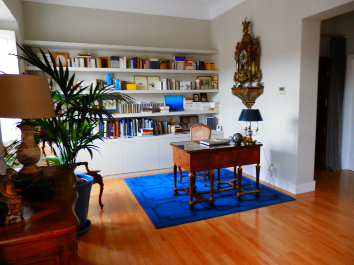 The neat, literally and figuratively, study in Madrid