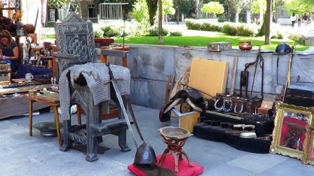 Mercadillo local de artesanía - Split (Croacia)