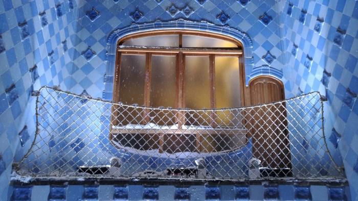 Patio interior de Casa Batlló de Gaudí