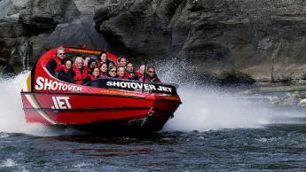 jetboating en Queenstown